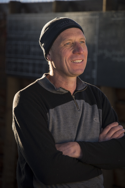 Rudi Bauer, winemaker/ viticulturalist / GM Quartz Reef, Central Otago, New Zealand
