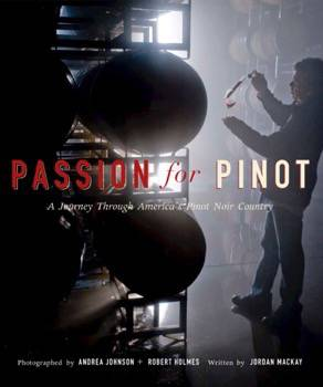 Passion for Pinot book cover Bob's version